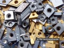 Hartmetall Wendeschneidplatten